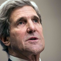 "Kerry promises ""intense and sustained"" support for Iraq"