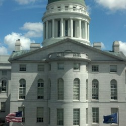 Maine State House, May 8, 2013.