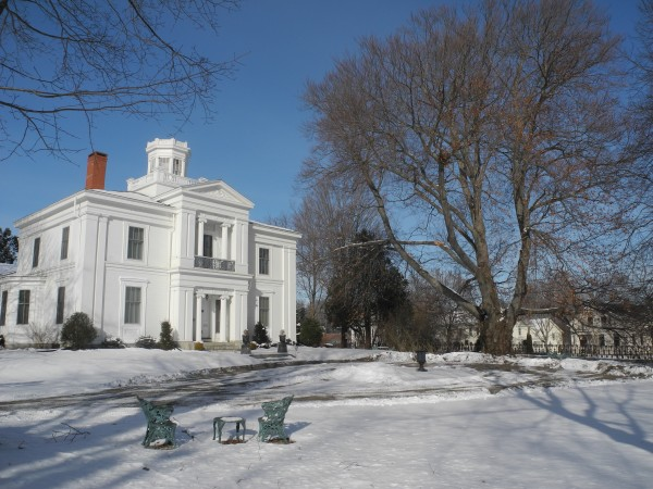 The White House, a Greek revival-style mansion built in 1840 by former Belfast mayor John Patterson White and listed on the National Register of Historic Places, will be auctioned off at a public sale scheduled for 11 a.m. Tuesday, Jan. 28.