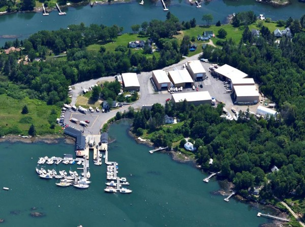 Hodgdon Yachts will merge with Boothbay Region Boatyard in Southport (pictured here) and Wotton's Wharf in Boothbay Harbor.