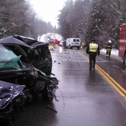 Woman dies in Franklin County crash