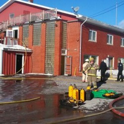 Millinocket credit union partly reopened after fire