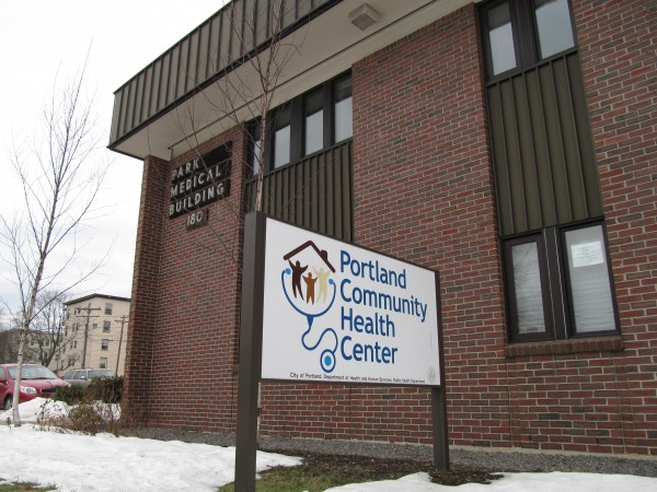 The Portland Community Health Clinic on Park Avenue in Jan. 2013.