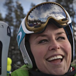 Lindsey Vonn cautious about Sochi Olympics participation