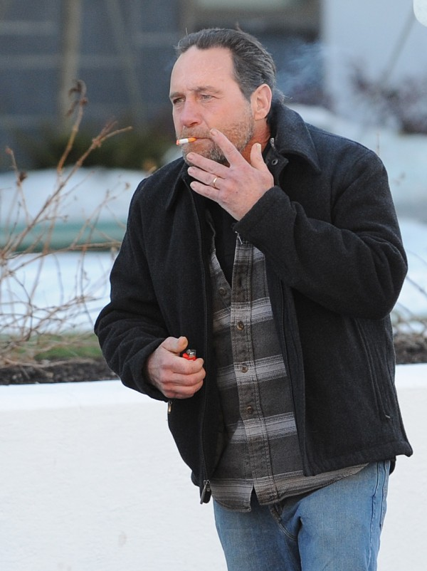 Winston McTague leaves federal court in Bangor on Monday.