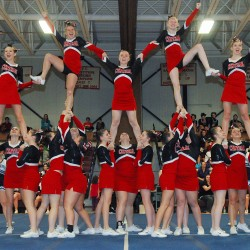 Hermon, Central capture B, C state cheering championships