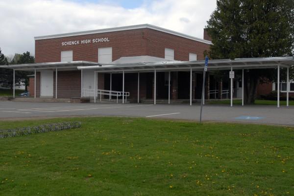 Schenck High School of East Millinocket, as seen on Friday, May 17, 2013.