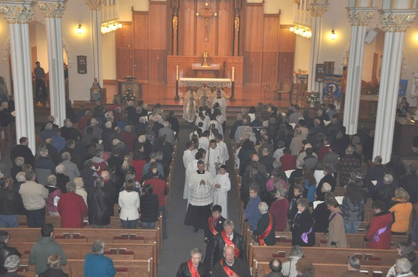 St. Louis Catholic Church in Fort Kent during its Centennial celebration.