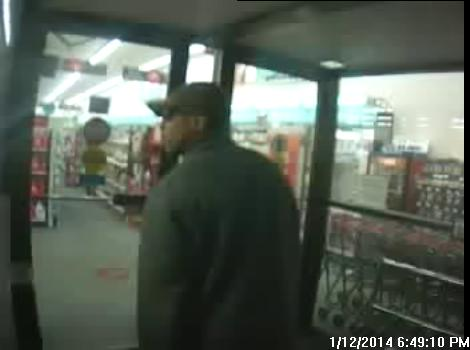 Police are searching for this suspect who allegedly robbed a CVS Pharmacy in Portland on Sunday.