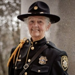 Sheriff declares she will run again