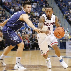 UMaine men's basketball team beats UNH, to play Stony Brook in tourney