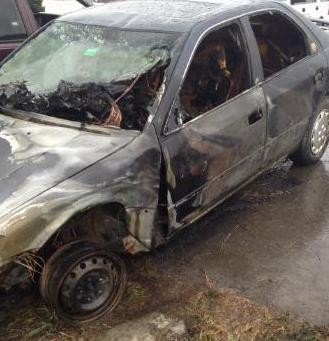 An Amity teen escaped injury Tuesday morning after a single vehicle crash on U.S. Route 1 in Hodgdon. The teen hit black ice and the car left the road, rolled over and caught fire.