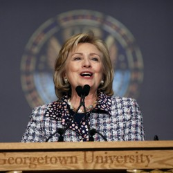 Hillary Clinton's following spotlight