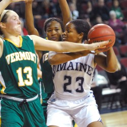 Albany cruises, hands UMaine women's basketball team 12th consecutive loss