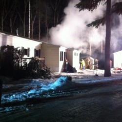 Freeport home damaged by fire early Wednesday morning
