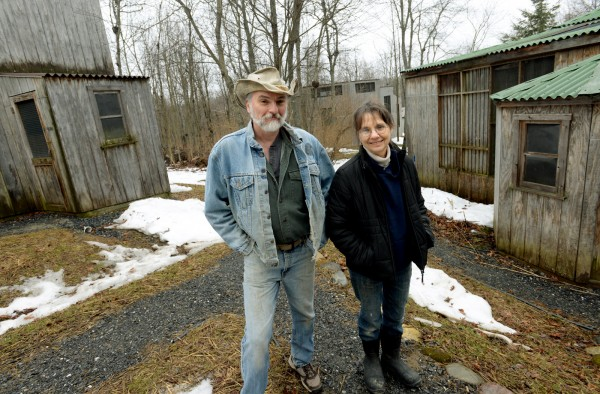 Marc Payne and Diane Winn are the owners of Avian Haven, a nonprofit wild bird rehabilitation center, in Freedom.