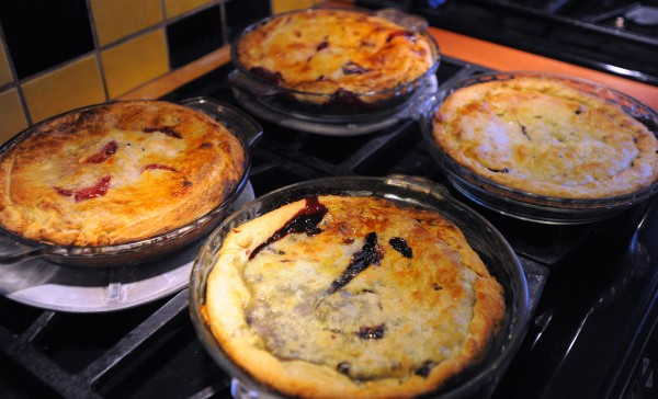 Pies baked by Cheryl Michaelsen at the Berry Manor Inn in Rockland.