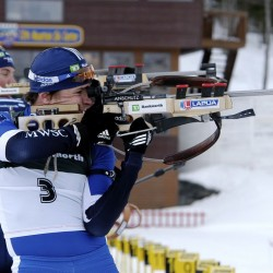 Currier competes in World Cup biathlon races; injury dooms Dumont's Olympic hopes