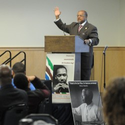 Martin Luther King Jr. defined by action, not just words, Colby College dean says