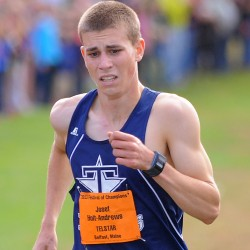 Man on the run: Ellsworth's Curts headed for elite high school meet in Washington