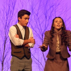 It's 'curtains' for a pair of talented teens