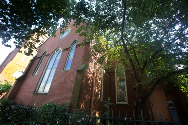 The Williston-West Church on Thomas Street in Portland's upscale West End is at the center of a development controversy.