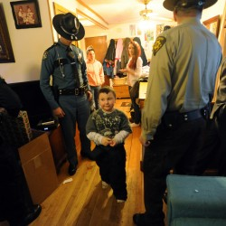 Old Town police officers credited with rescuing 2 children before October standoff