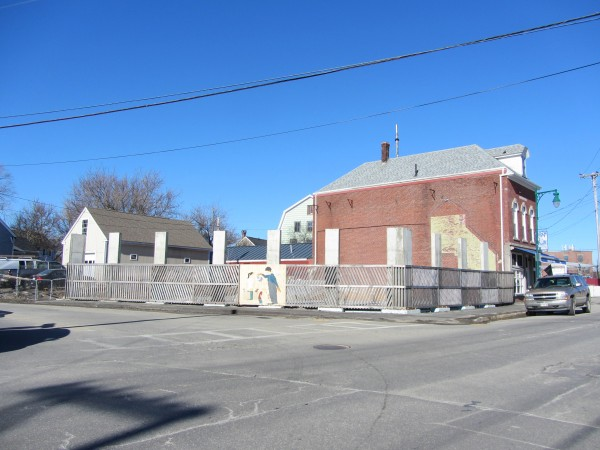 This lot at 250 Main St. in Rockland is now proposed to be the site of a hotel.
