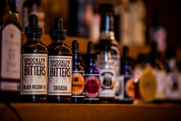 Bitters are sold in the mixology shop and added to nonalcoholic mocktails in the swank soda bar at Vena's Fizz House.