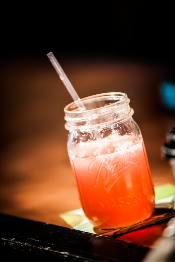 Mocktails such as the Maine Fire are made craft cocktail style at Vena's Fizz House.