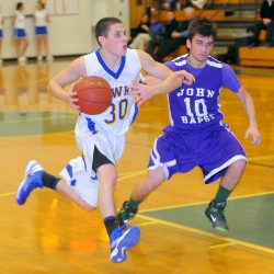 Veteran Thayer leads Hermon boys basketball team to prelim win over Presque Isle