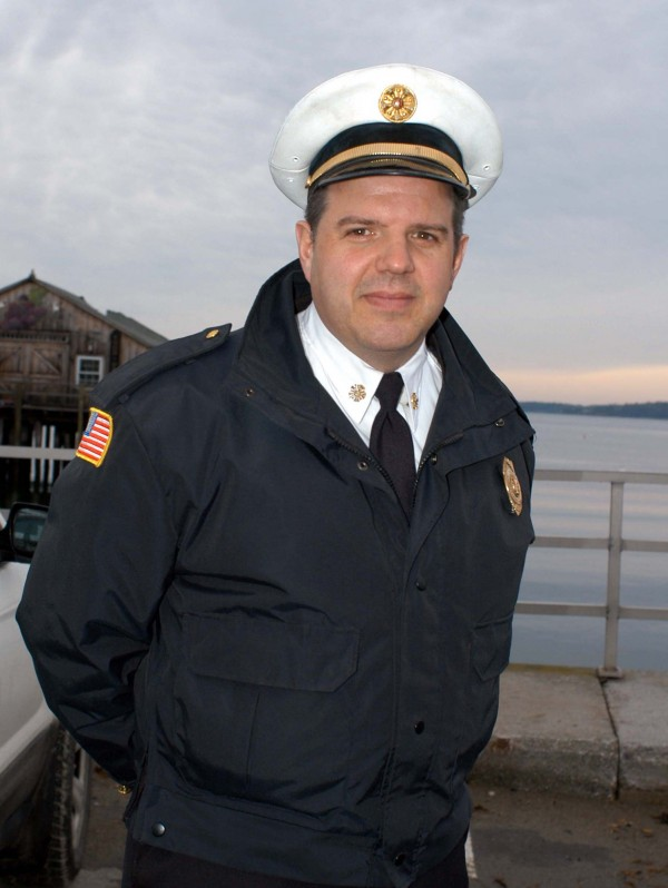 Rockland Fire Chief Charles Jordan Jr.