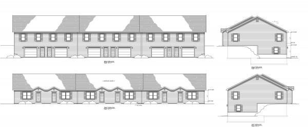 A 24-unit apartment complex has been proposed for 149 Surry Road in Ellsworth. If approved, each two-bedroom apartment will be about 2,000 square feet in size, including an attached garage and storage space.