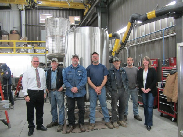 SteelPro employees include Craig Wells, John Willis, Dave Batty, Chris Jarvis, Dave Baker, Doug Frost, and Jeanne Rimm.
