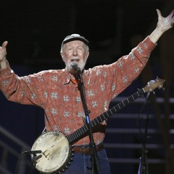 American folk singer and activist Pete Seeger dies at 94