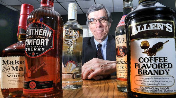 Retired liquor executive Gerry Reid, the current head of the Bureau of Alcoholic Beverages and Lottery Operations in Maine, at his office in Hallowell.