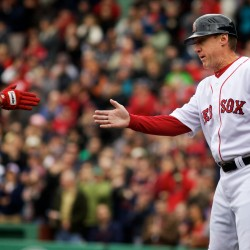 Orono native eager to don 'work clothes' in opener as Red Sox third base coach
