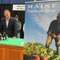 Crop of young farmers growing in Maine