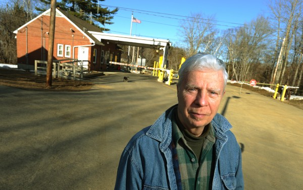 &quotThey need a modern port that doesn't change the character of the village,&quot said Bob Parker, a resident of Forest City, standing next to the U.S. border crossing gate on Thursday, March 18, 2010.
