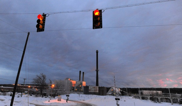 Great Northern Paper Co. LLC in East Millinocket on Monday.