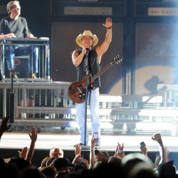 Country stars Miranda Lambert and Dierks Bentley party with the Bangor Waterfront crowd