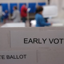 Early voting amendment clears first Senate hurdle