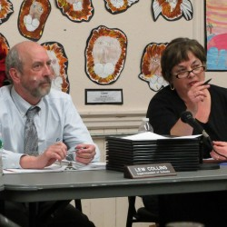 Board member billed for tape of missed meeting