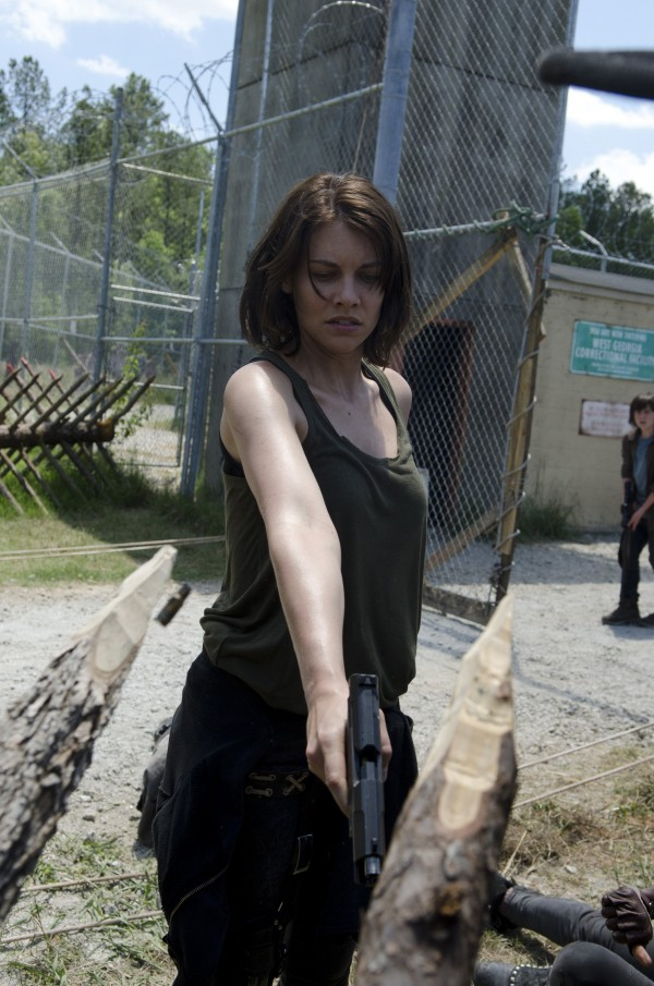 Lauren Cohan plays Maggie Greene in &quotThe Walking Dead,&quot rated TV-14
