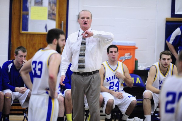 Chris Murphy, the men's basketball coach at Maine Maritime Academy in Castine, has announced that he is stepping down at the end of the 2013-2014 season.