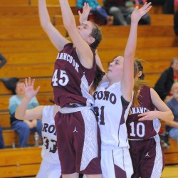 Calais girls edge Mattanawcook Academy to reach EM final; Orono up next