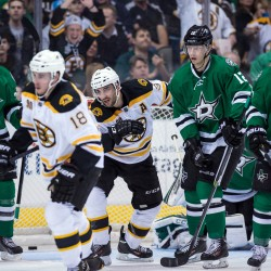 Bruins outslug Stars for 6-3 victory