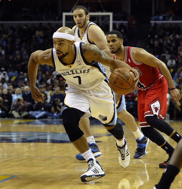 Jerryd Bayless, pictured playing for the Memphis Grizzlies, has been traded to the Boston Celtics.