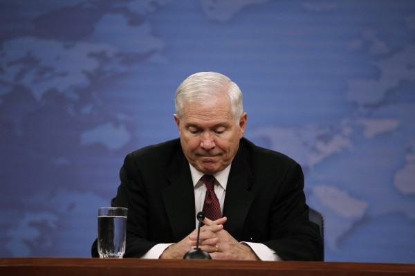 U.S. Secretary of Defense Robert Gates is pictured during his final official news conference at the Pentagon in Washington in 2011. U.S. President Barack Obama lacked belief in his administration's policy toward the war in Afghanistan and was skeptical it would even succeed, his former defense secretary, Robert Gates, writes in a memoir to be published next week.