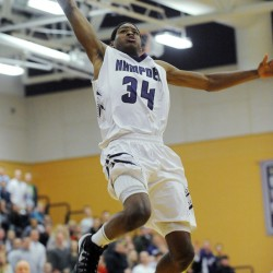 Hampden boys basketball team uses fast start, big finish to edge Mt. Blue